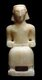 Yemen: Alabaster figurine of a seated man, Al-Maslub, c. 3rd century-2nd century BCE